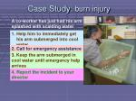 case study burn injury