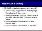 meconium staining34