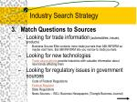 industry search strategy17