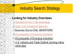industry search strategy18