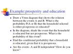 example prosperity and education9