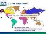 4 safe fleet teams
