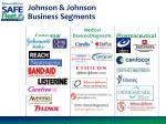 johnson johnson business segments
