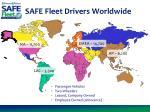 safe fleet drivers worldwide