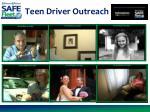 teen driver outreach