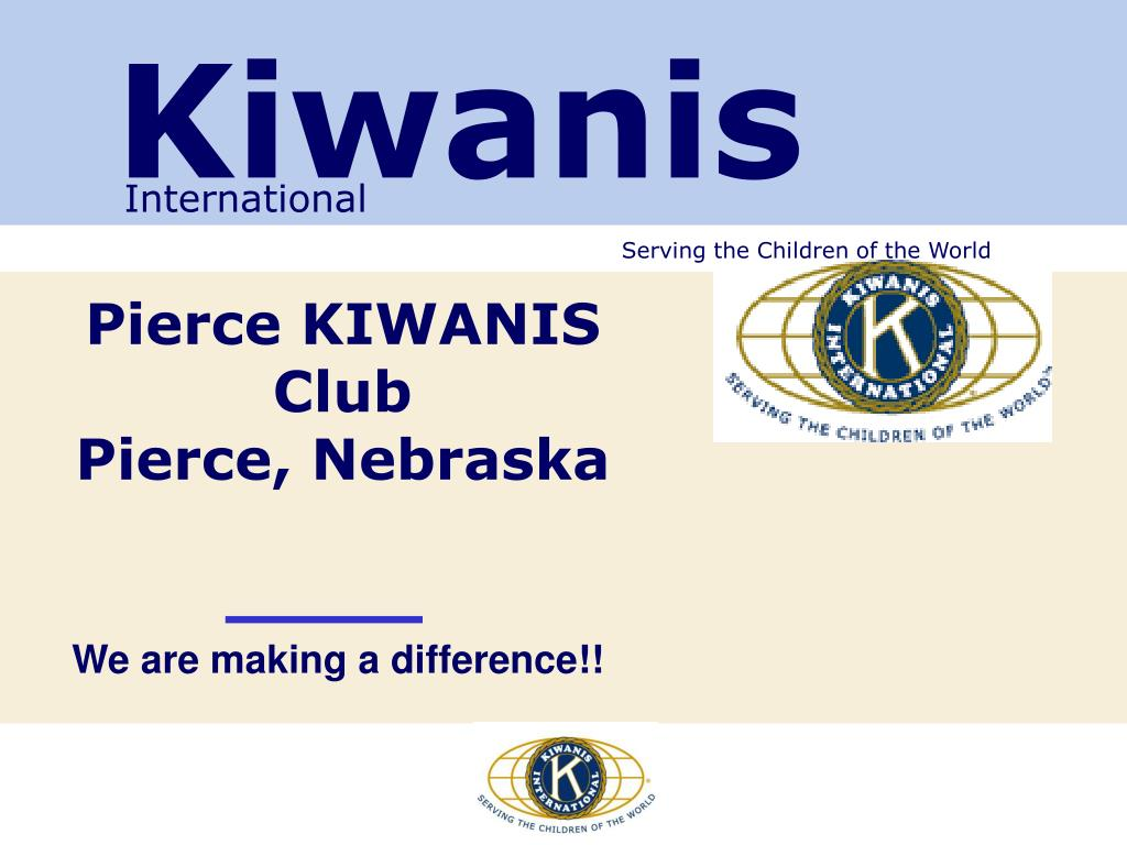 pierce kiwanis club pierce nebraska l.