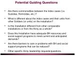 potential guiding questions