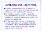 conclusion and future work31