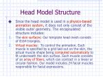 head model structure11