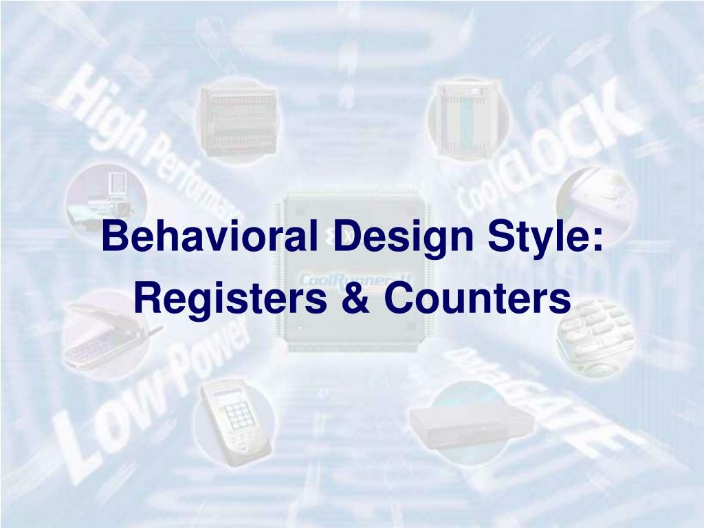 Behavioral Design Style