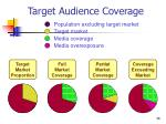 target audience coverage