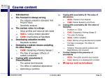 course content21