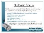 builders focus
