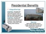 residential benefits23