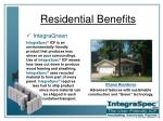residential benefits25
