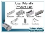 user friendly product line