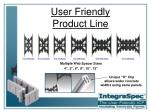 user friendly product line4