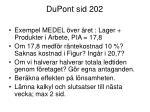 dupont sid 202
