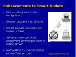 enhancements to smart update
