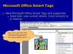 microsoft office smart tags