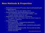 new methods properties
