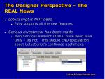 the designer perspective the real news