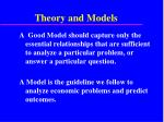 theory and models37