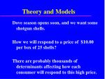 theory and models39