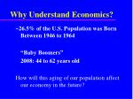 why understand economics5
