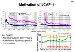 motivation of jcap 1