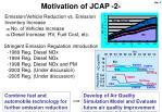 motivation of jcap 2