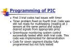 programming of pic