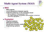 multi agent system mas