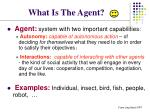 what is the agent6