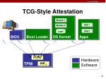 tcg style attestation