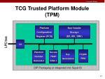 tcg trusted platform module tpm