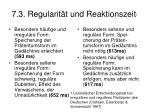 7 3 regularit t und reaktionszeit 1