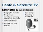 cable satellite tv