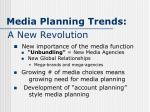 media planning trends