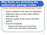 why fleets are switching the natural gas garbage trucks