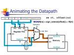 animating the datapath3