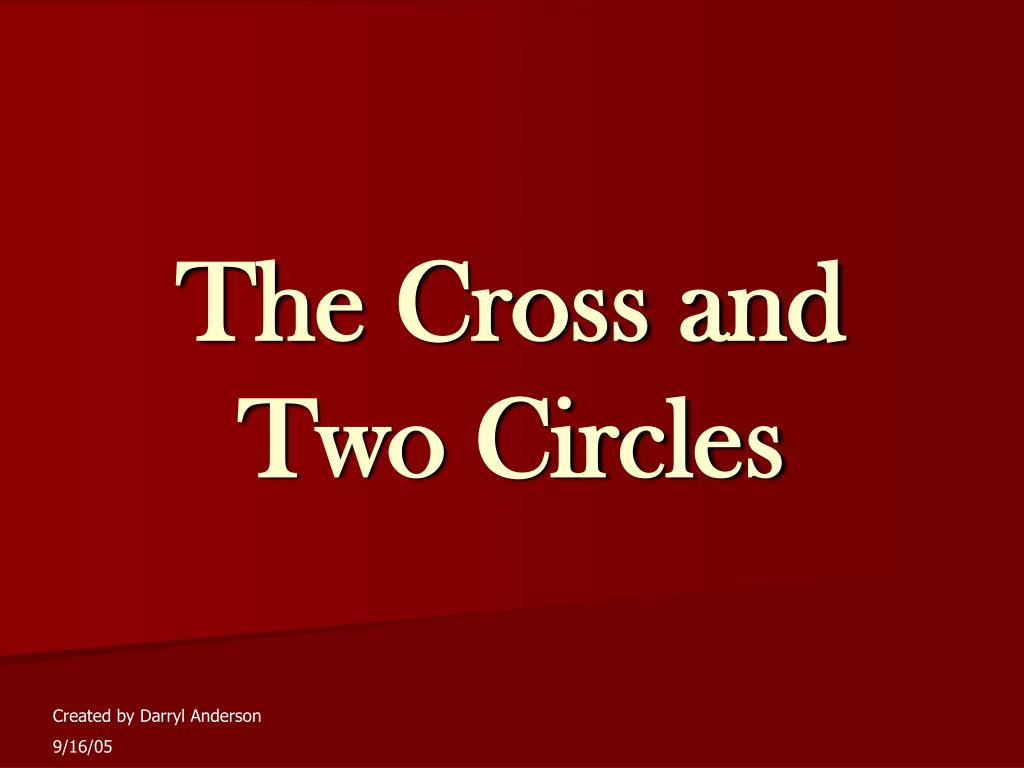 the cross and two circles l.