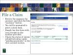 file a claim10
