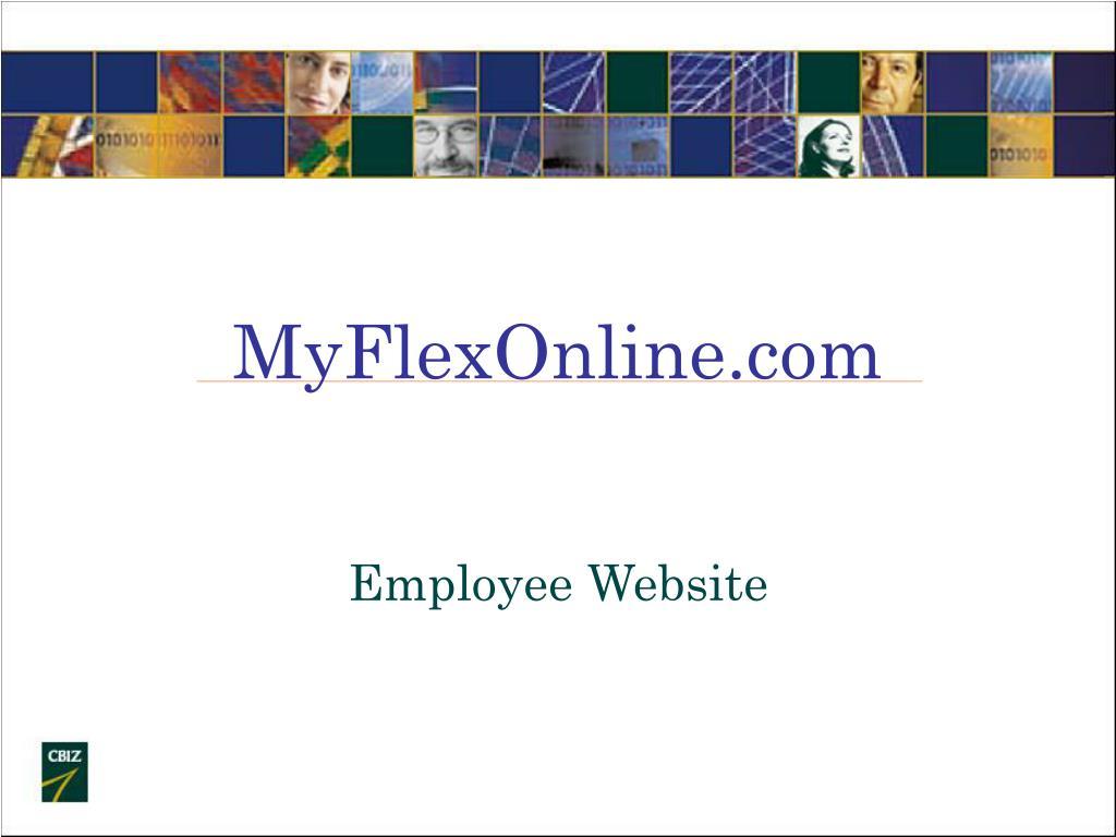 myflexonline com l.