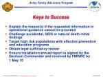 keys to success22