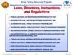 laws directives instructions and regulations