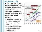 vii moore s law