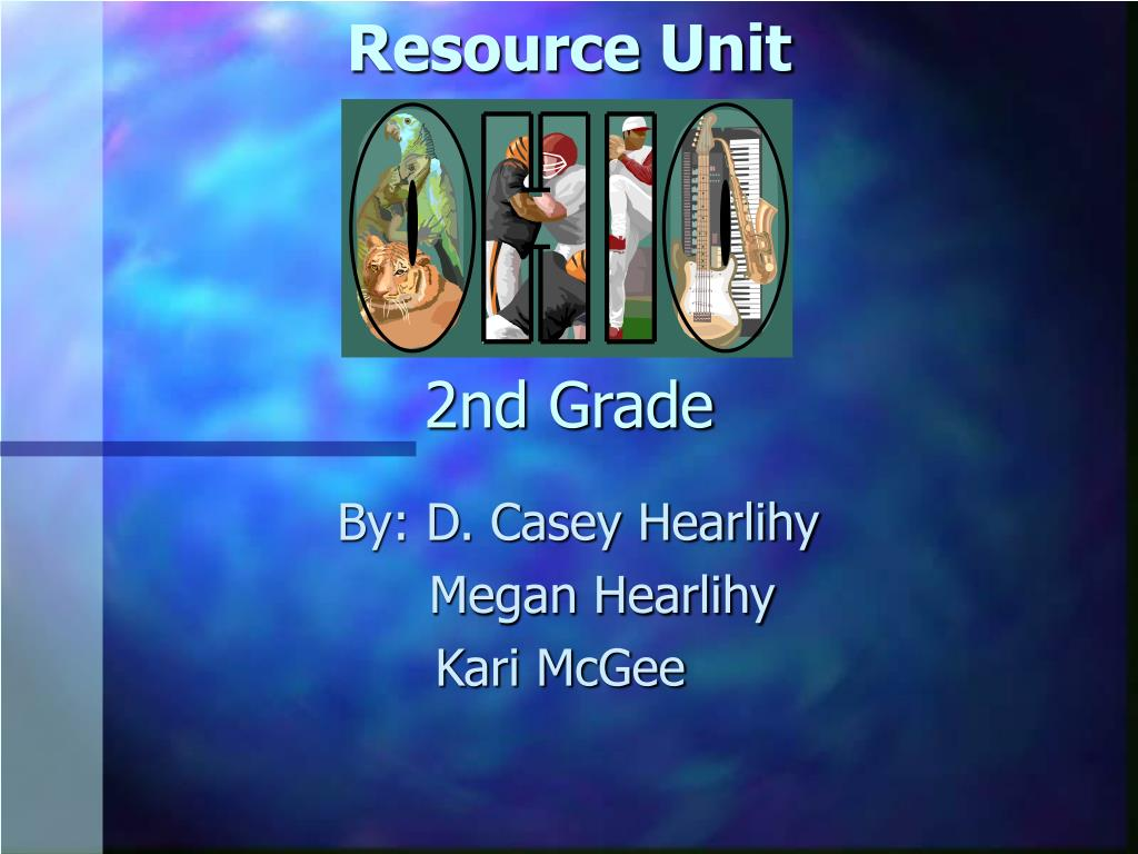 resource unit 2nd grade l.