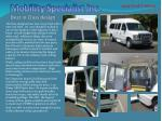mobility specialist inc best in class design