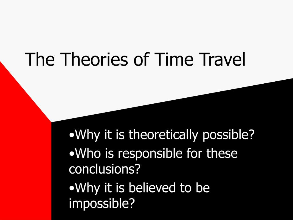the theories of time travel l.
